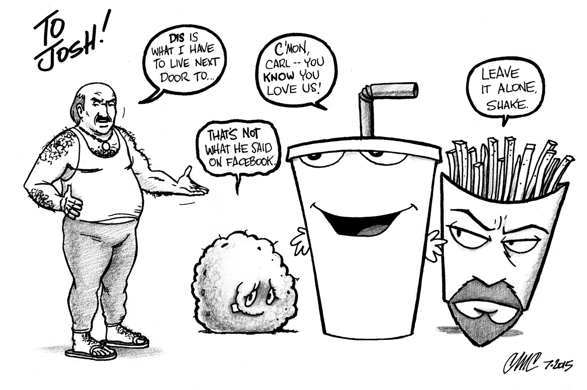 aqua teen hungerforce coloring pages - photo#6