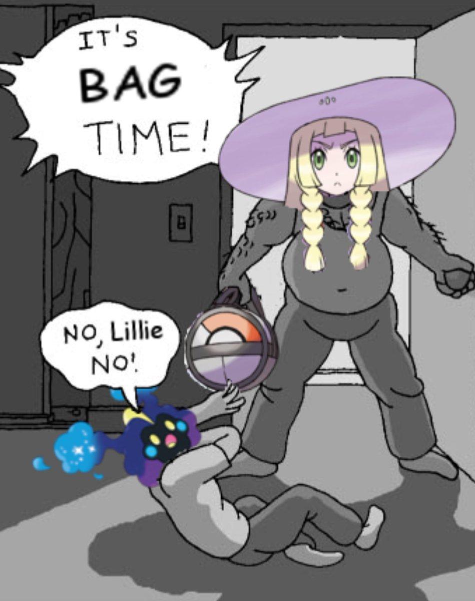 4cc it's bag time! pokémon sun and moon know your meme