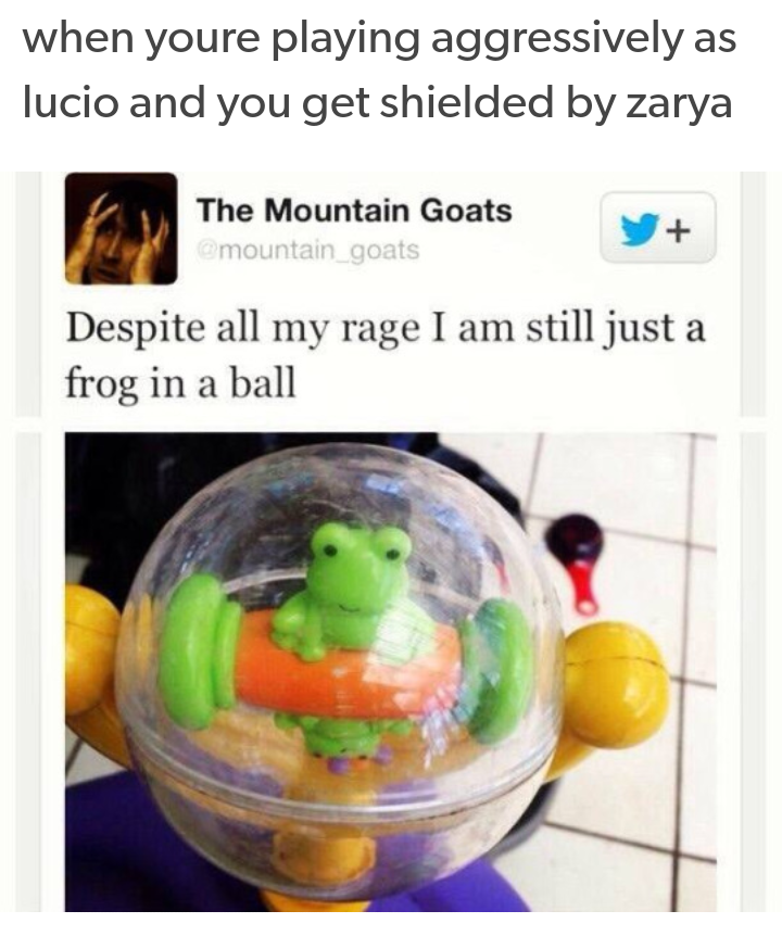 729 despite all dat rage the boi is just a frog in a ball
