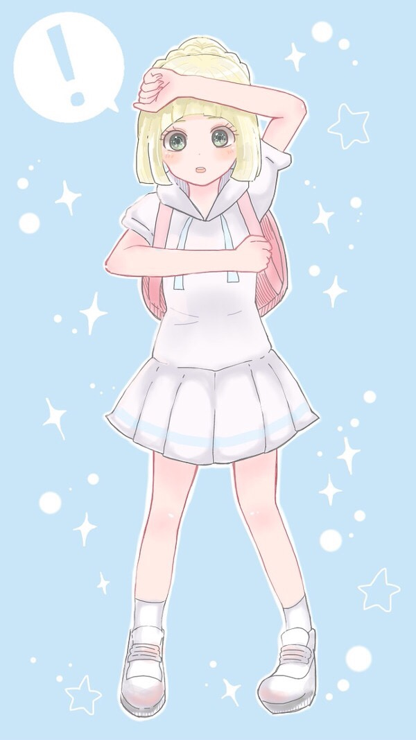 Lillie fan art because I think she's adorable, you think she's ...