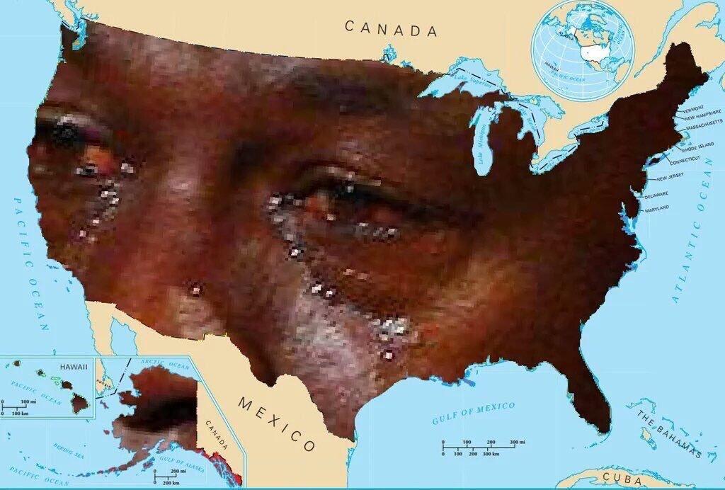 Crying Jordan America Crying Michael Jordan Know Your Meme - Michael jordan us map crying