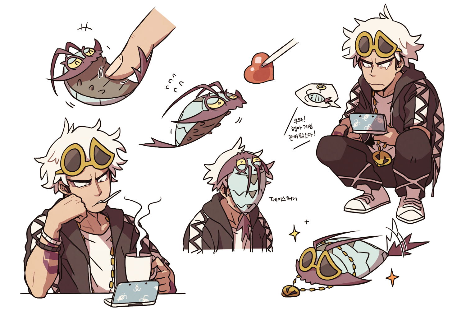 1b9_large guzma and wimpod by ssalrobyul pokémon sun and moon know your meme