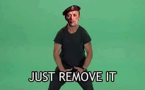Image result for remove kebab meme