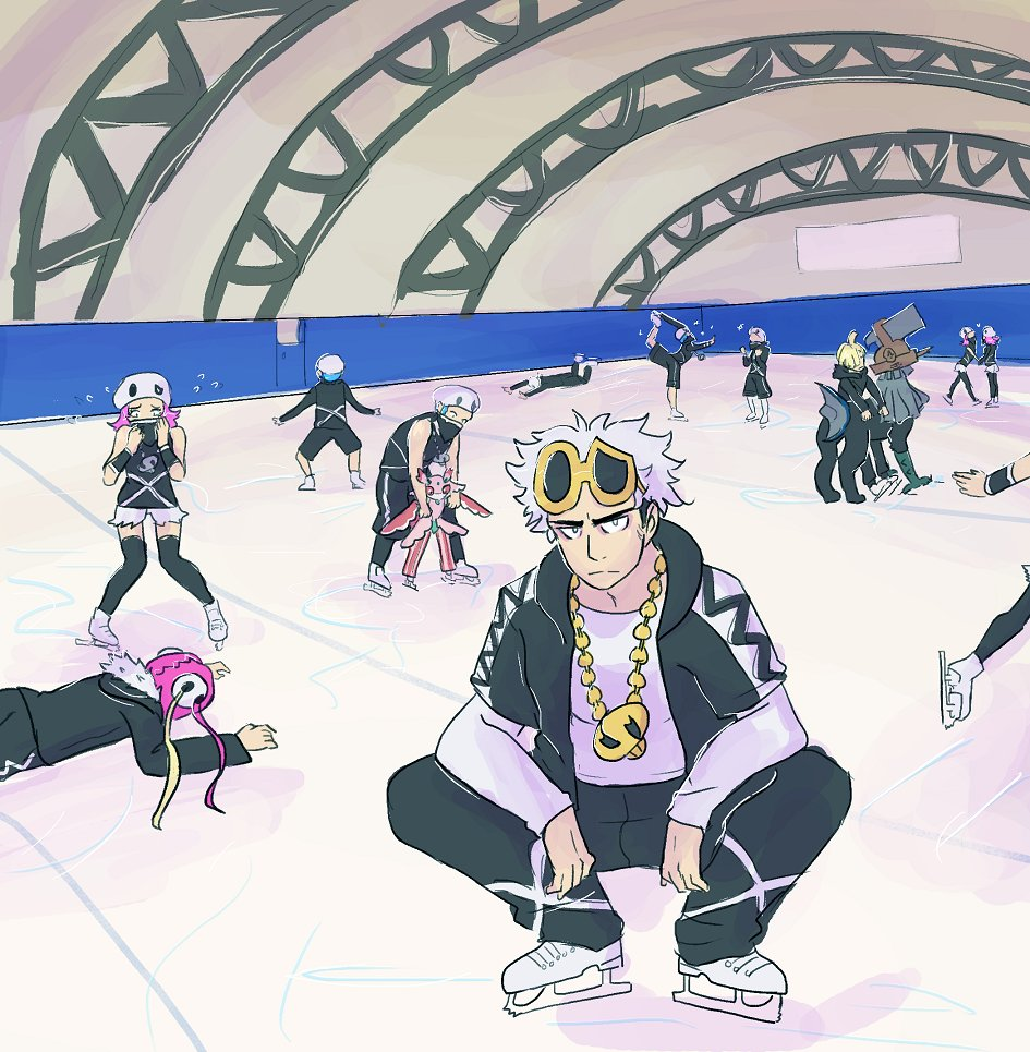 Team skull on ice pokmon sun and moon know your meme pokmon sun and moon pokmon x and y pokmon black 2 and white 2 skating sciox Gallery