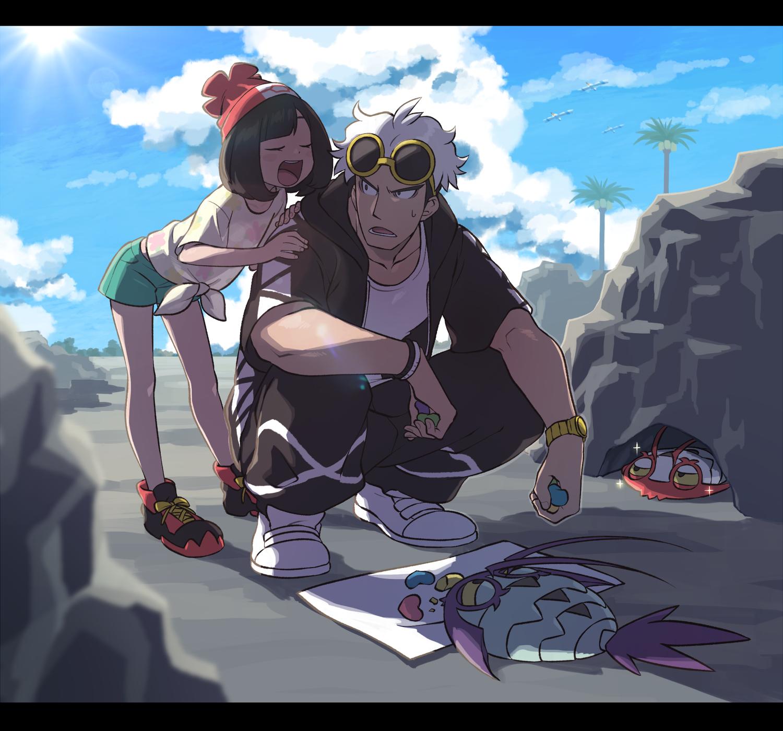 pokemon sun and moon how to see guzma