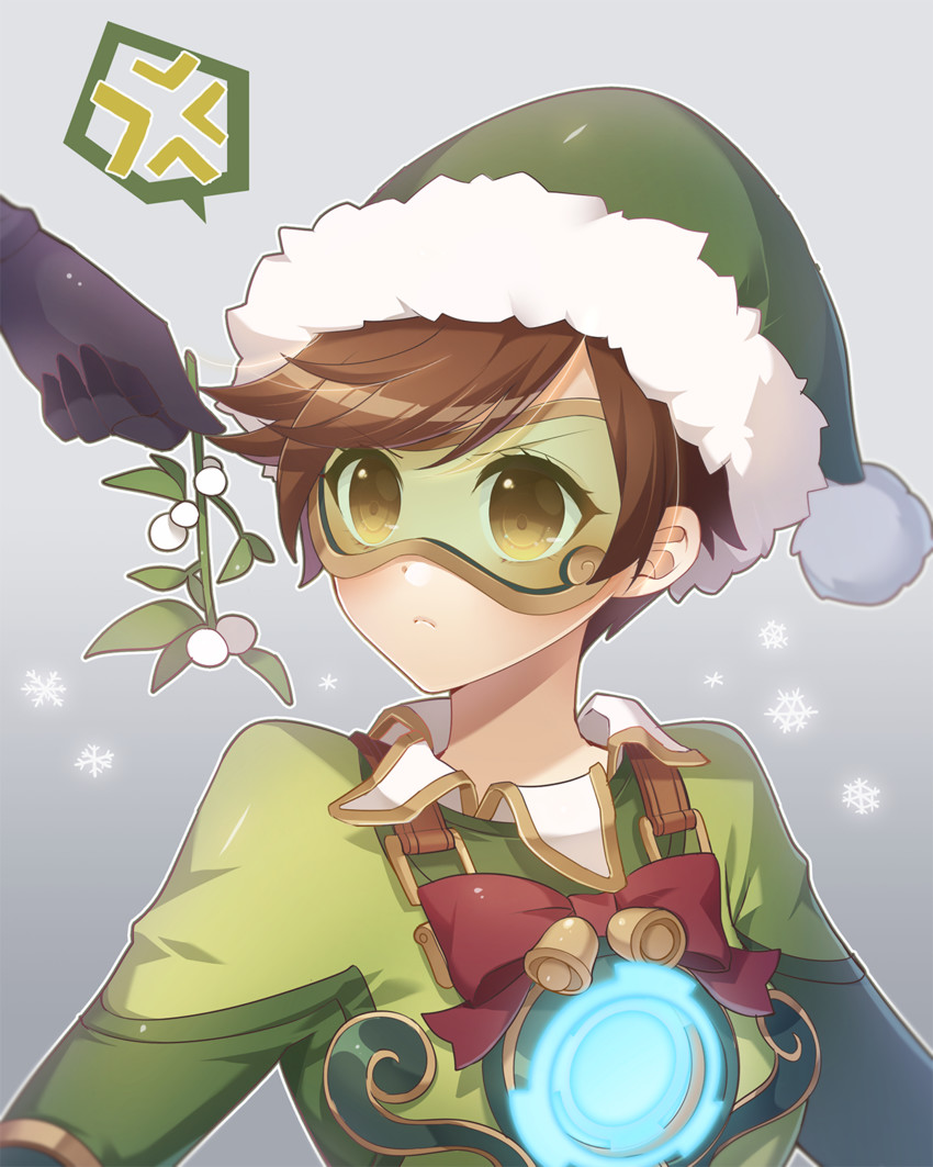 Christmas Tracer | Overwatch | Know Your Meme
