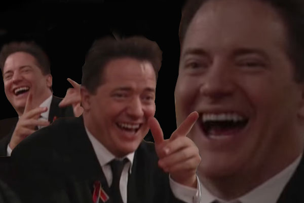 030 laughing brendan fraser laughing tom cruise know your meme