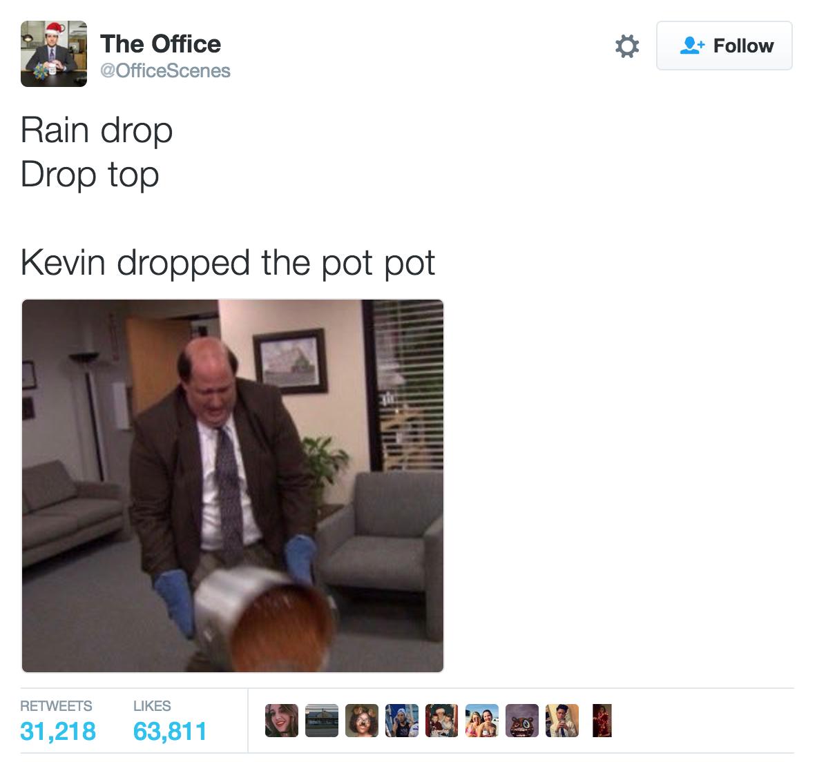 ec1 the office rain drop drop top know your meme