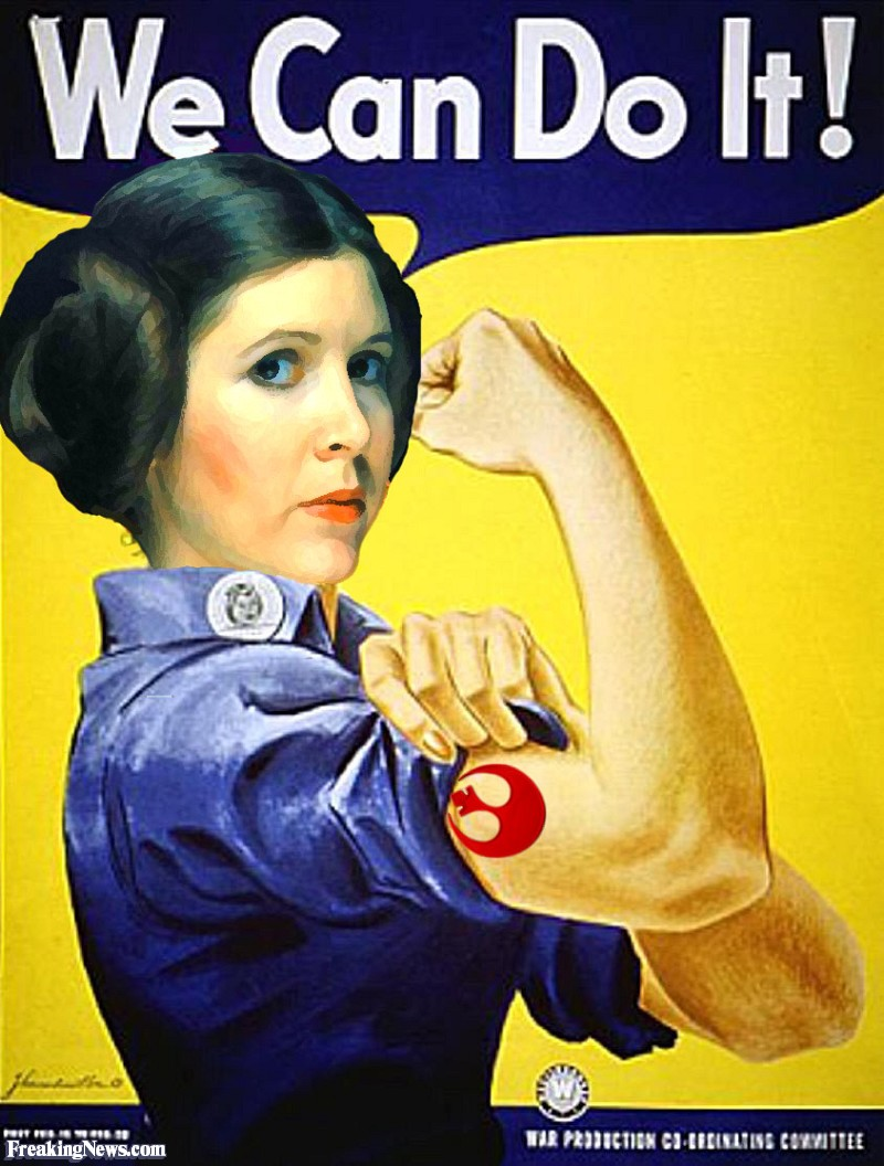58f we can do it! ver 2 princess leia know your meme