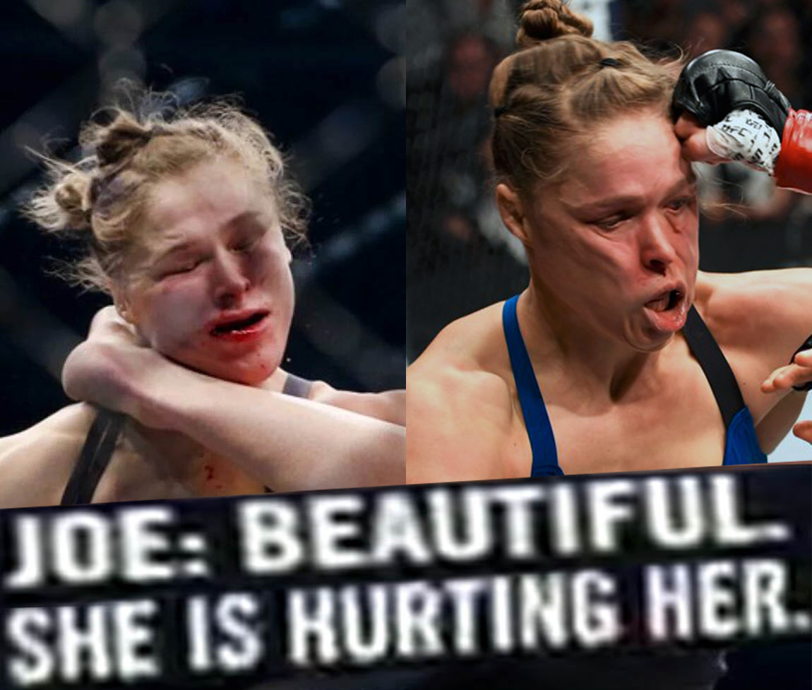 47f christ this is brutal ronda rousey know your meme