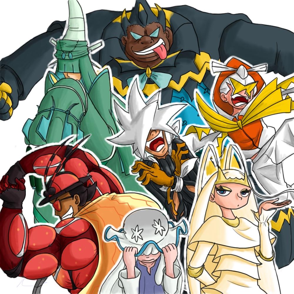 Ultra B Cartoon Characters : Nihilego pokemon t pokmon gijinka and