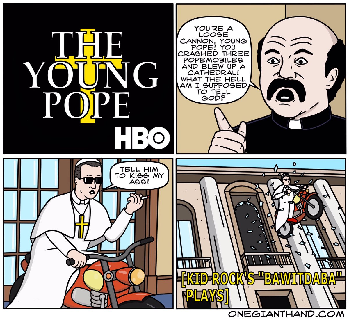 18c young pope comic the young pope know your meme