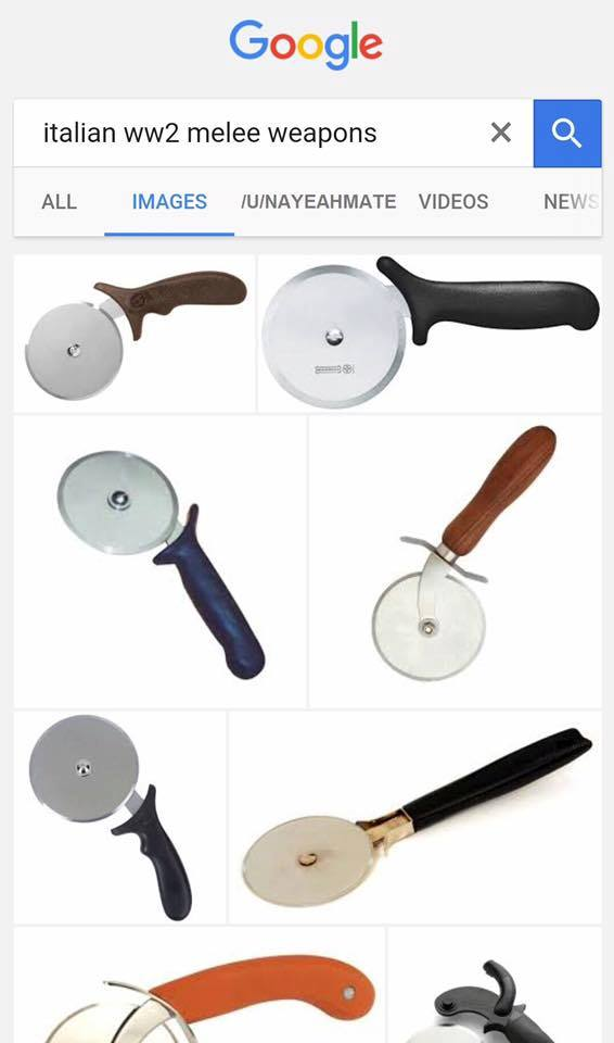 Italian Ww2 Melee Weapons Italian Military Jokes Know