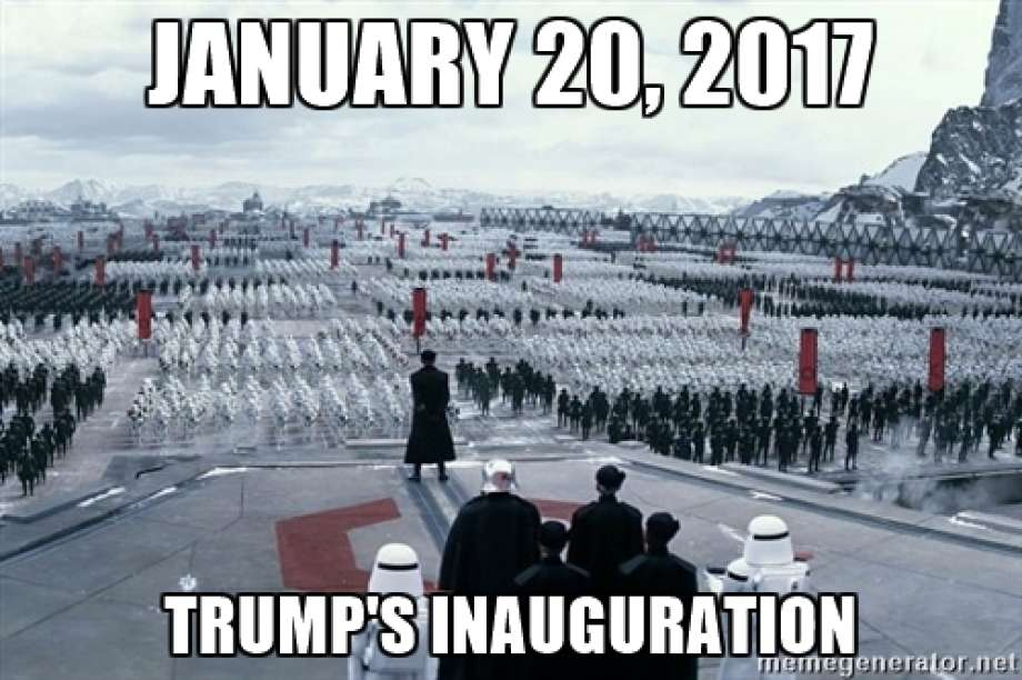 590 star wars inauguration of donald trump know your meme