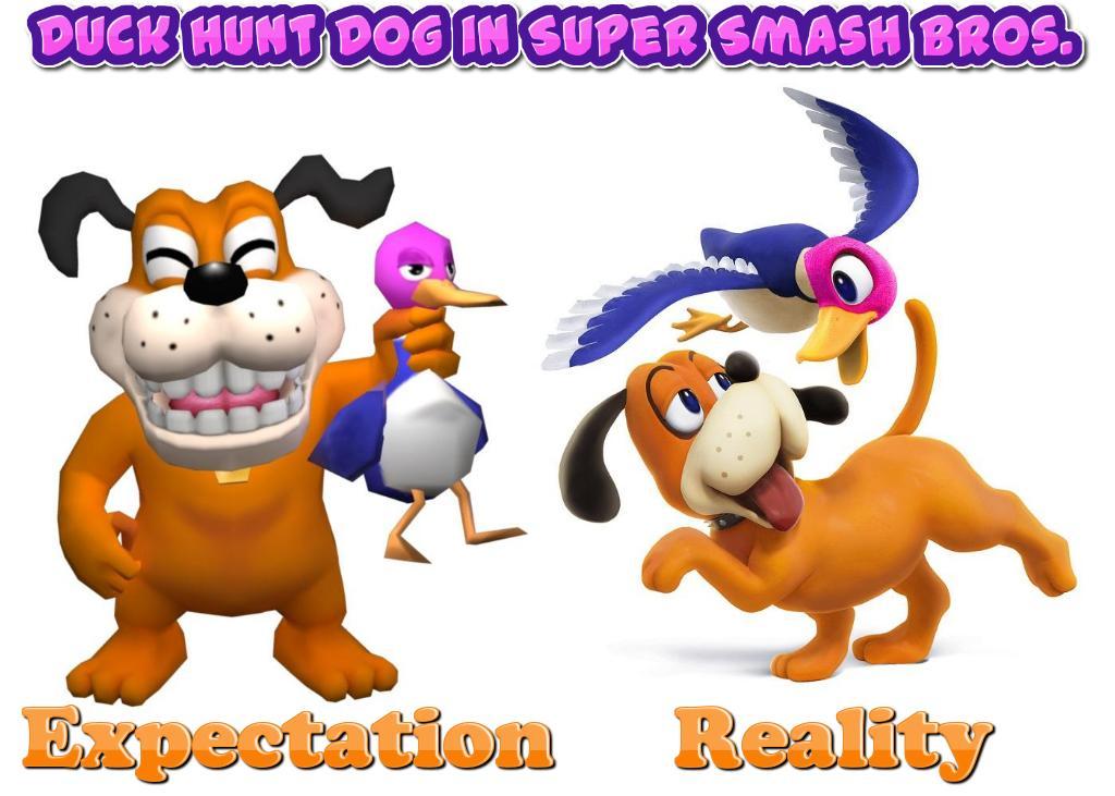 Super Smash Bros 4 Duck Hunt