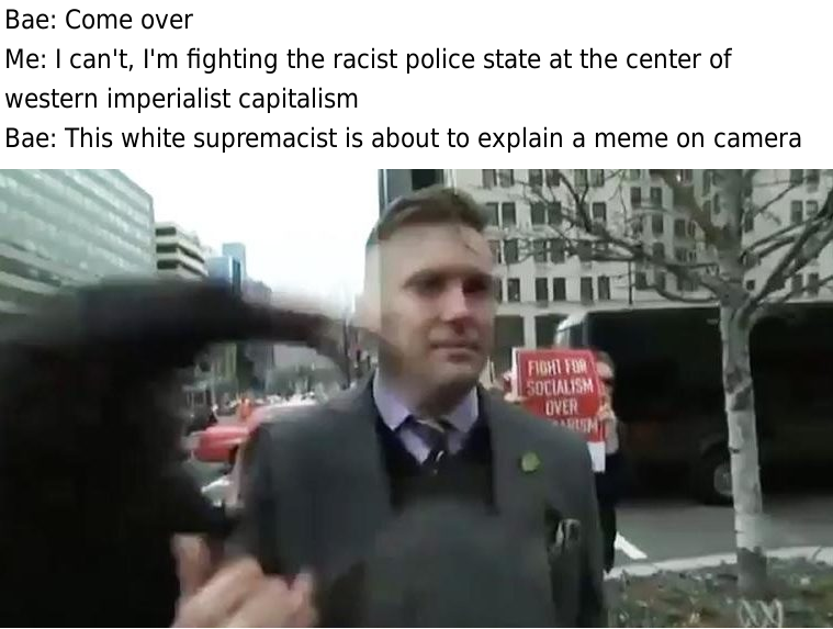 ca2 bae richard spencer punched in the face know your meme,Richard Spencer Memes