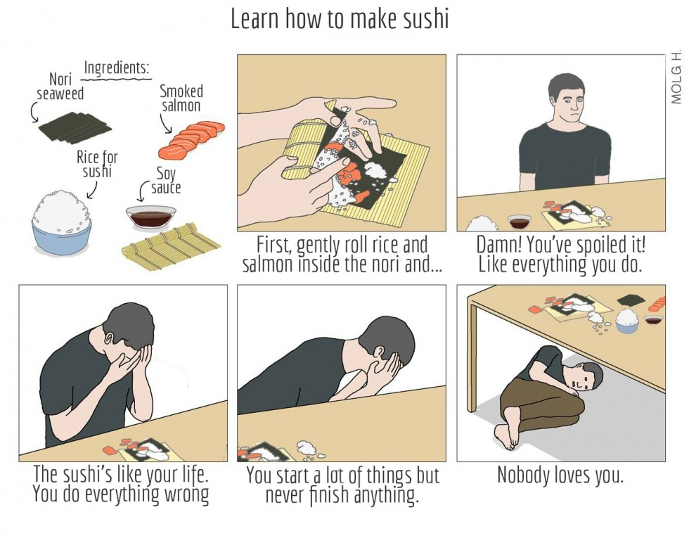 574 how to make sushi know your meme,How To Create A Meme Comic