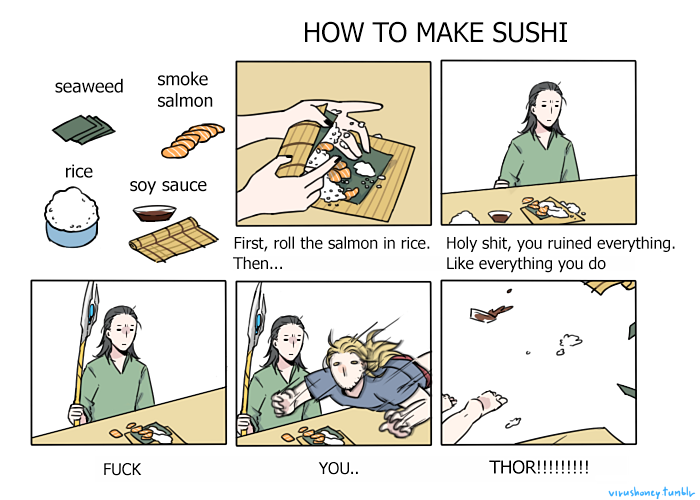 a36 how to make sushi asgardian version how to make sushi know