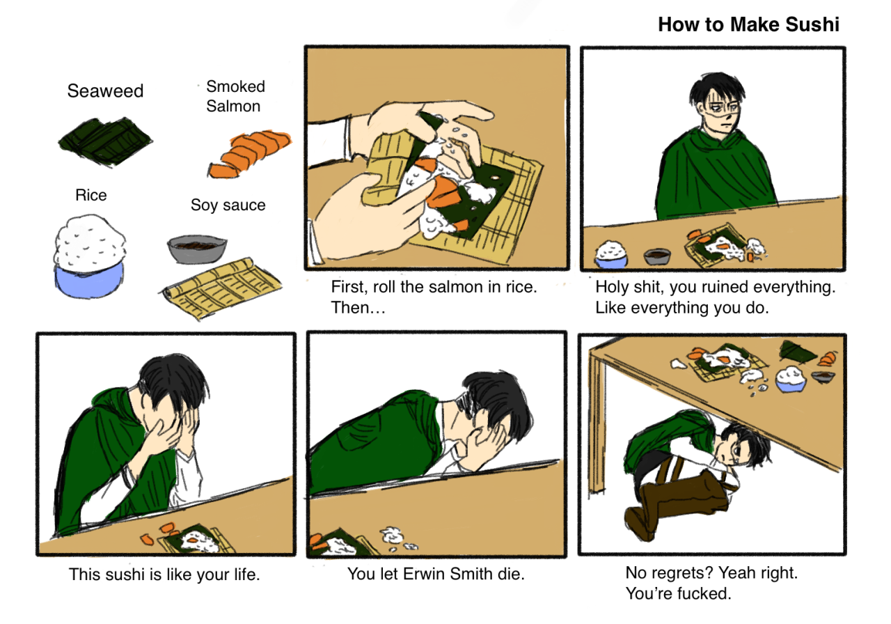 773 how to make sushi know your meme