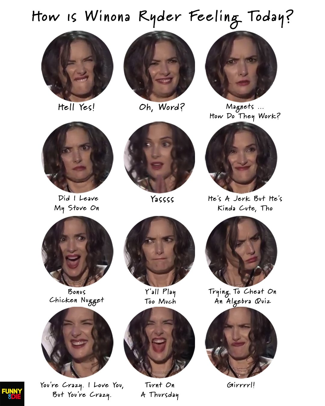 5d9_large the many faces of winona ryder at the sag awards last night