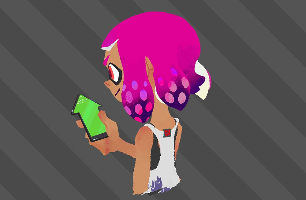 I Want That Squid Phone Splatoon Know Your Meme