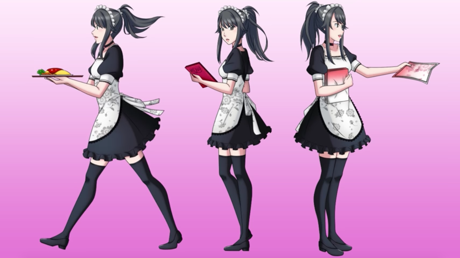 Yandere Chan As A Maid Yandere Simulator Know Your Meme