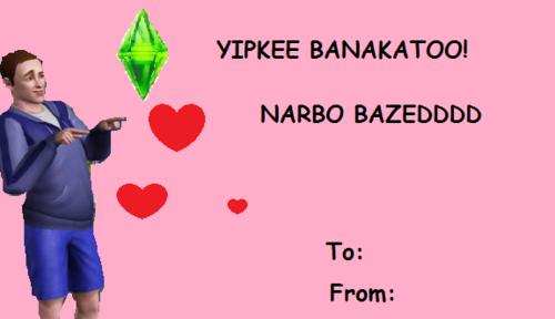 Schön YIPKEE BANAKATOO! NARBO BAZEDDDD To: From: