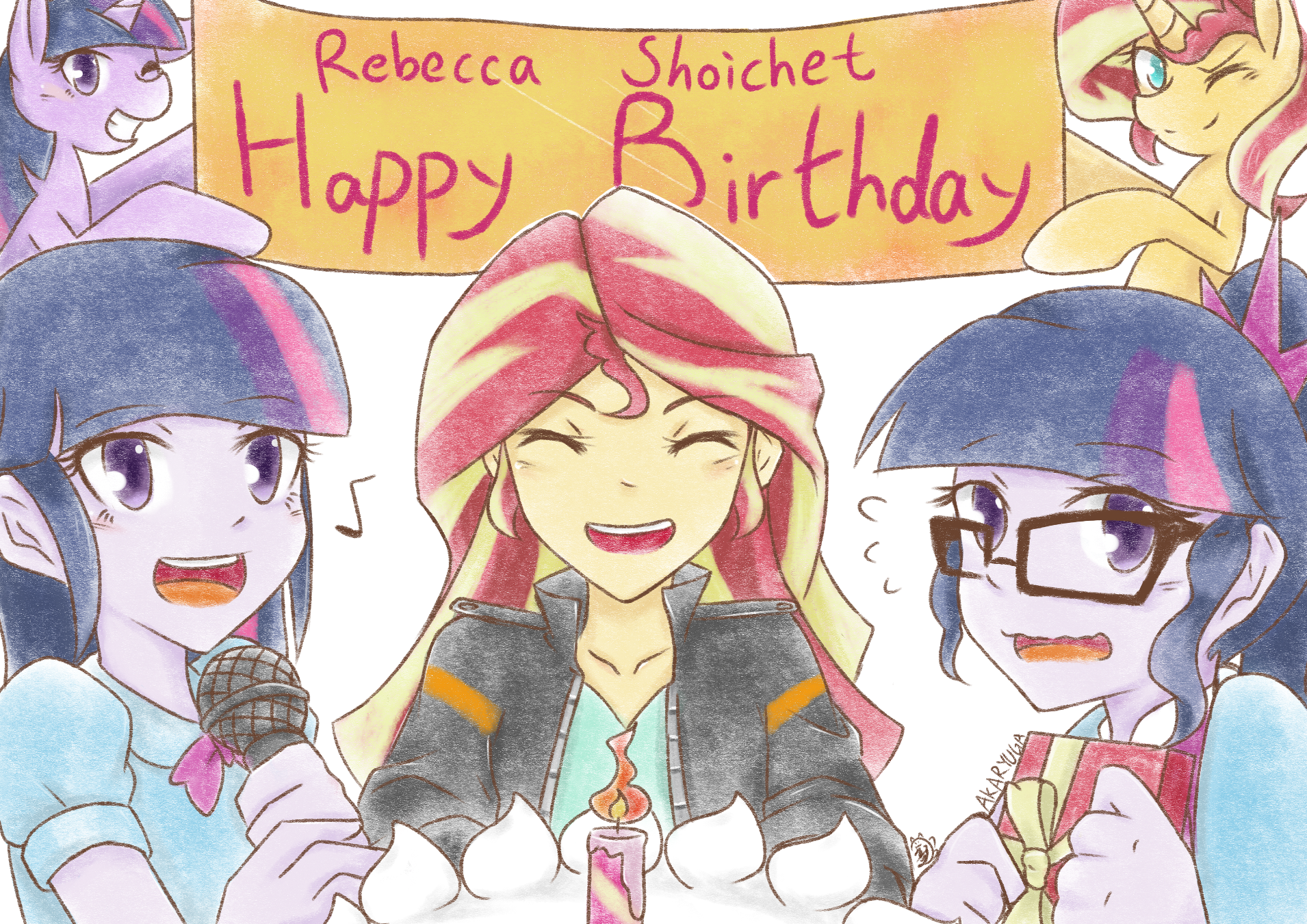 53e happy birthday rebecca shoichet! by aka ryuga my little pony