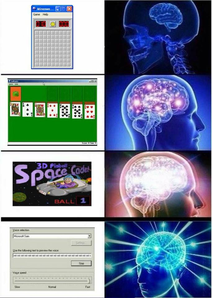 42d computer entertainment expanding brain know your meme