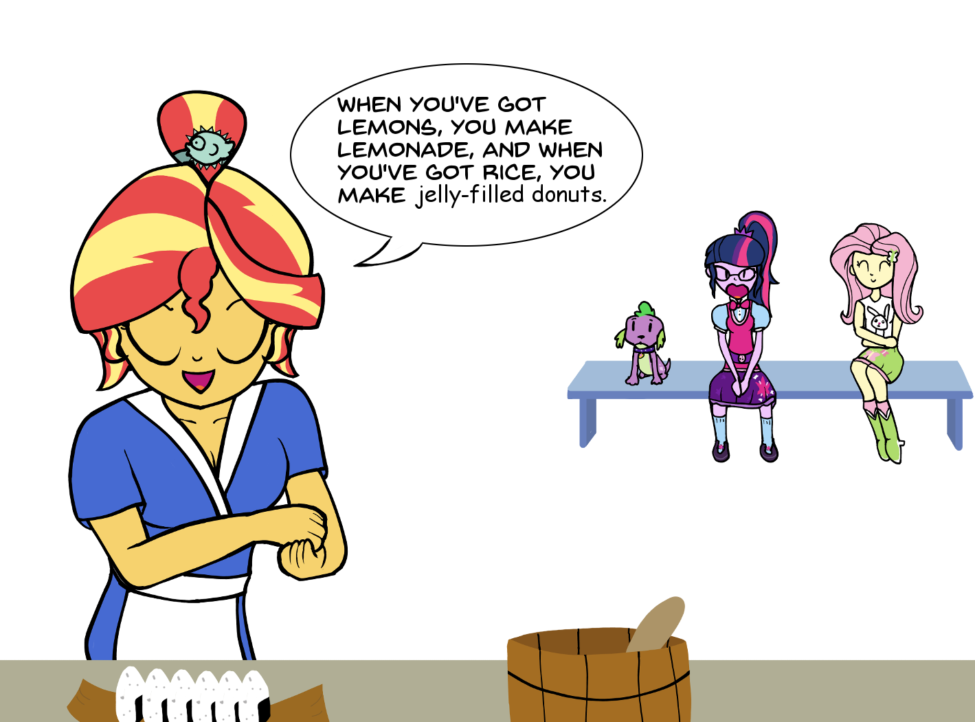 Sunset Sushi | My Little Pony: Equestria Girls | Know Your Meme