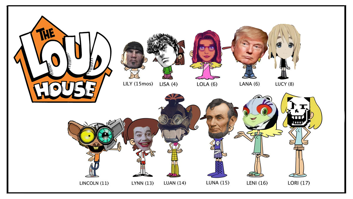 Characters The Loud House Know Your Meme