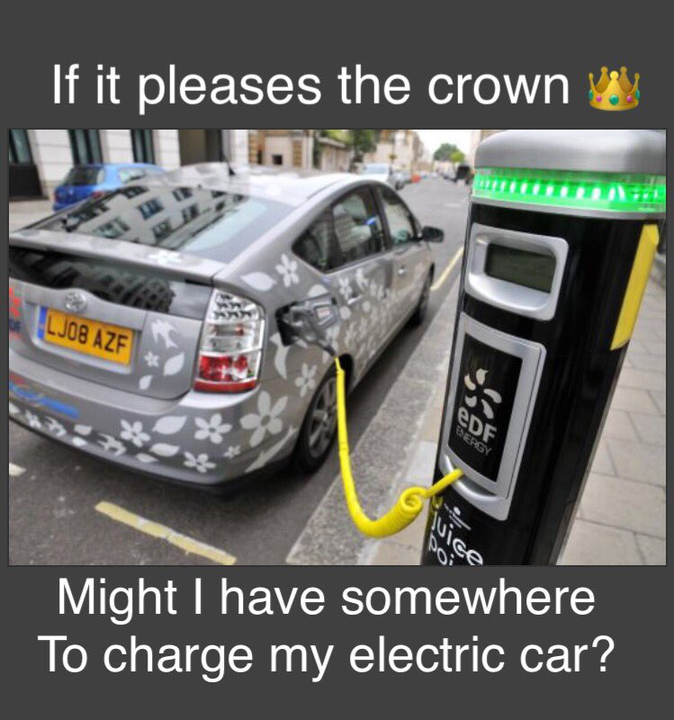 Might I Have Somewhere To Charge My Electric Car If It Pleases