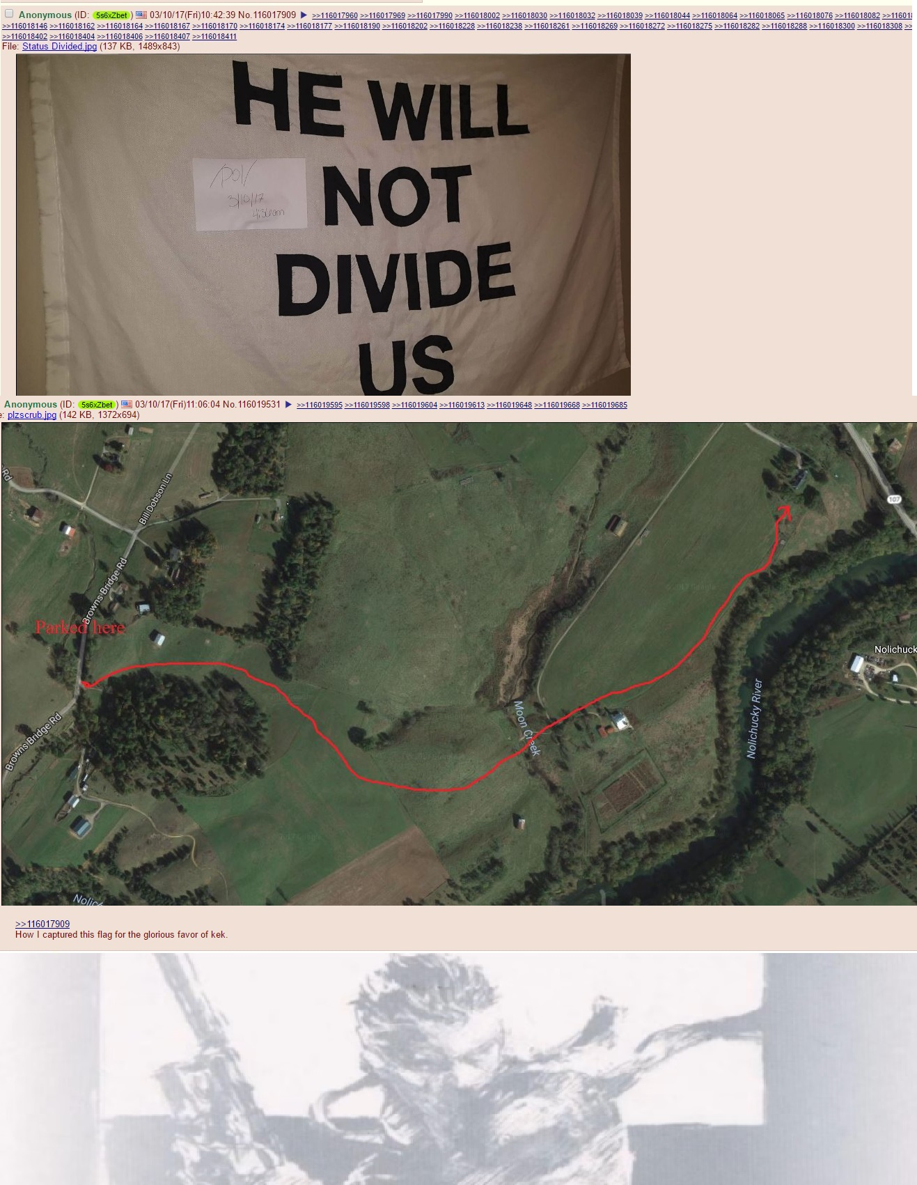 Flag Flag Pole Status Divided He Will Not Divide Us Know - Divided us map