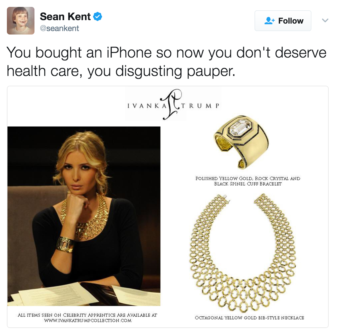 6a8 ivanka's gold jewelry obamacare vs trumpcare know your meme