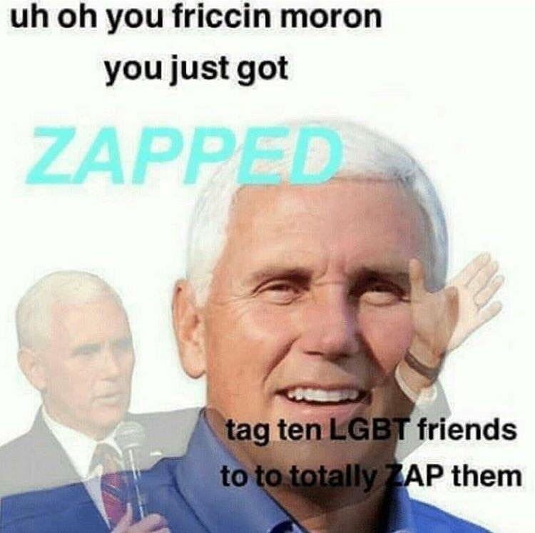 ed1 zapped mike pence know your meme