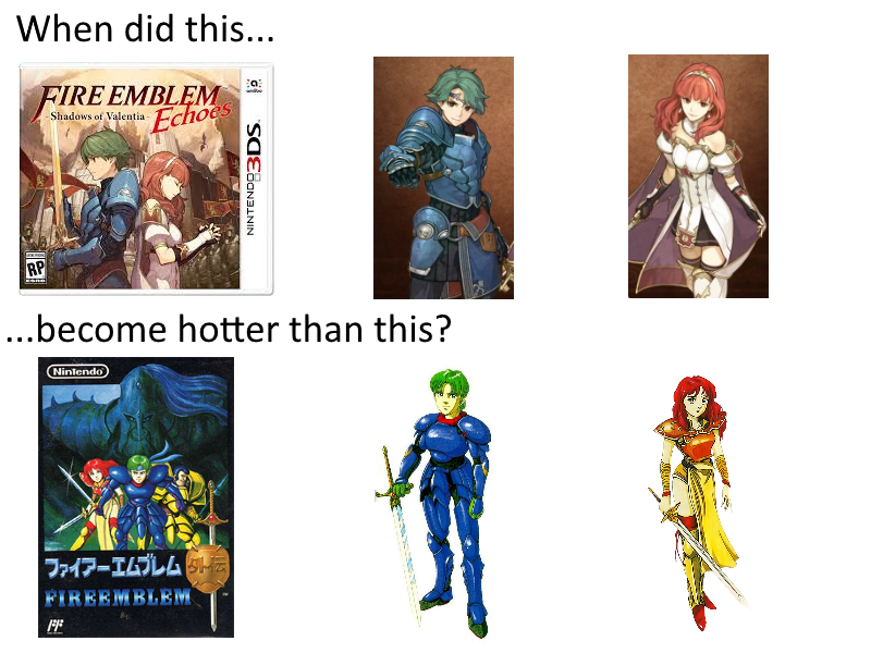 58b old vs new fire emblem know your meme