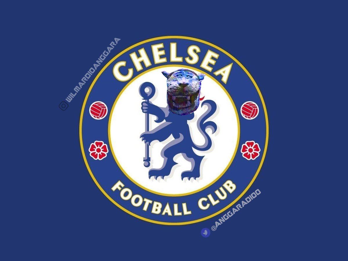 Chelsea FCs New Logo Harimau Lucu Know Your Meme