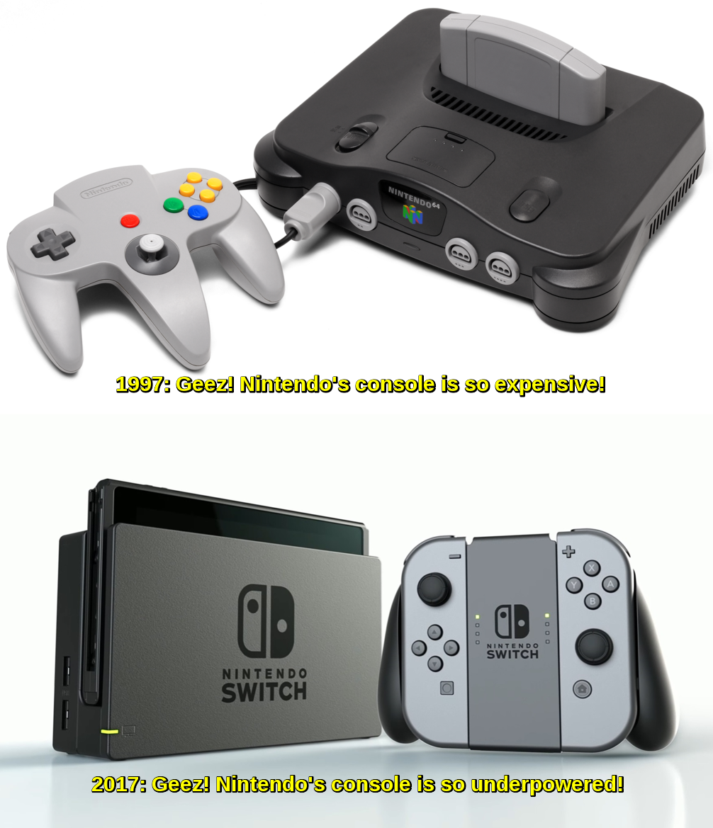 a95 from expensive to underpowered nintendo know your meme,Nintendo 64 Meme