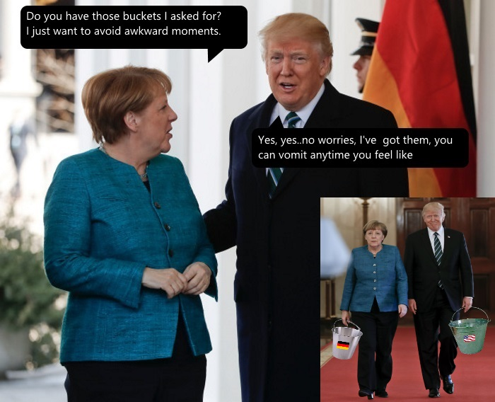 885 angela merkel and donald trump know your meme