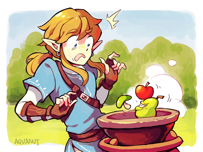 Very dubious food by aquanut the legend of zelda breath for Cuisine zelda