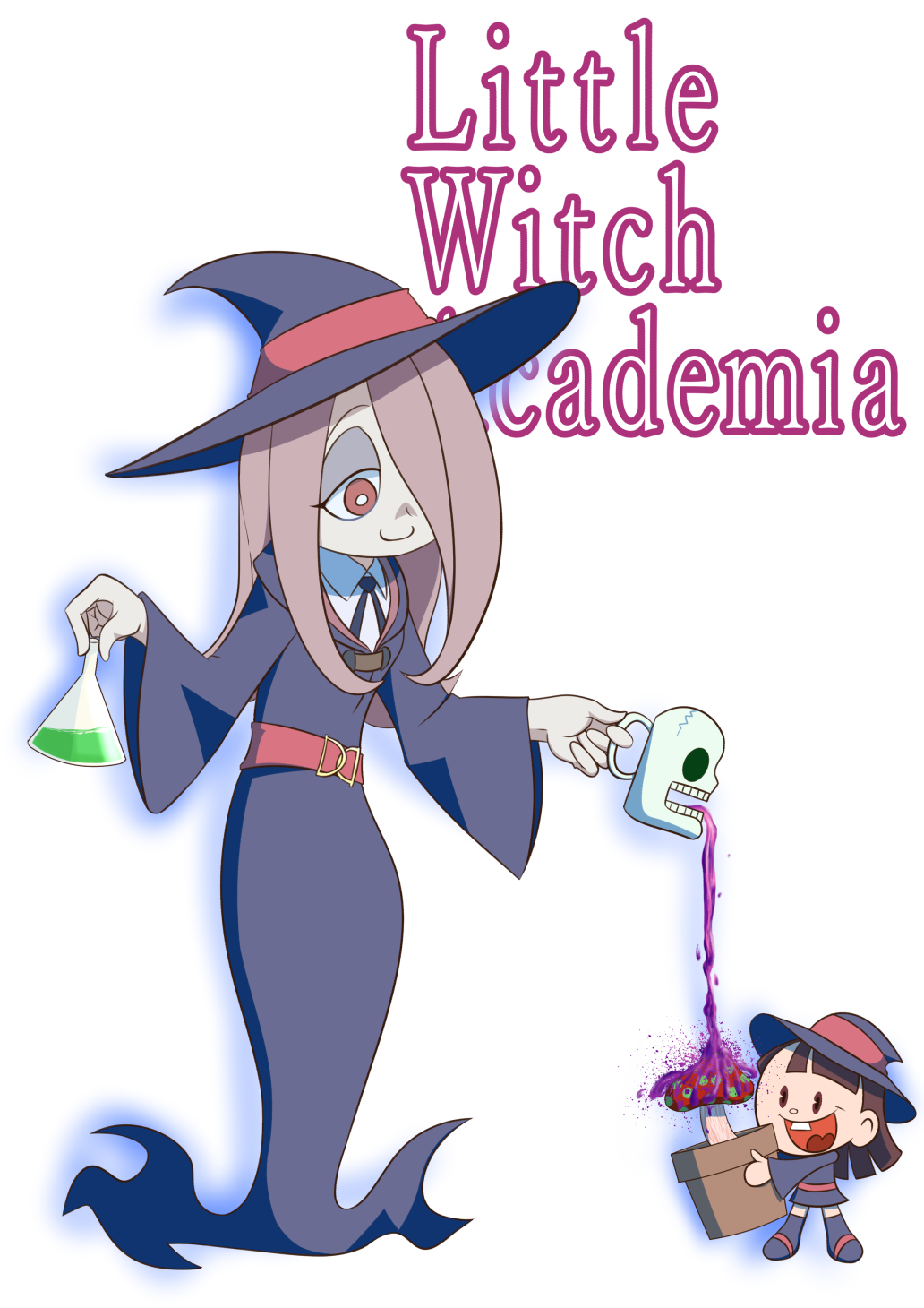 sucy u0026 cartoon akko little witch academia know your meme