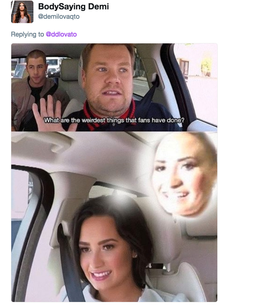 3a8 lovato weird fans poot lovato know your meme