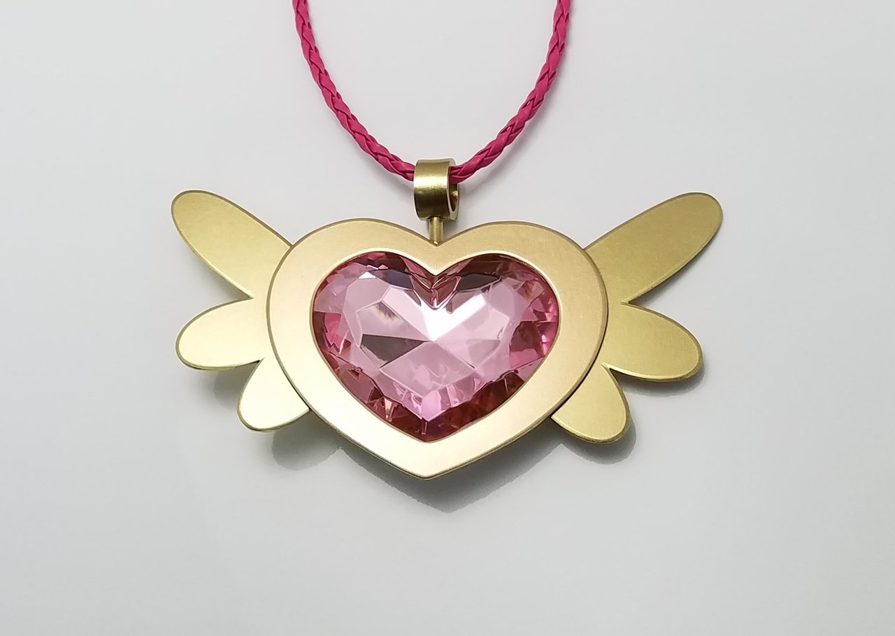 Equestrian pink heart of courage my little pony friendship is jewellery pendant fashion accessory mozeypictures Gallery