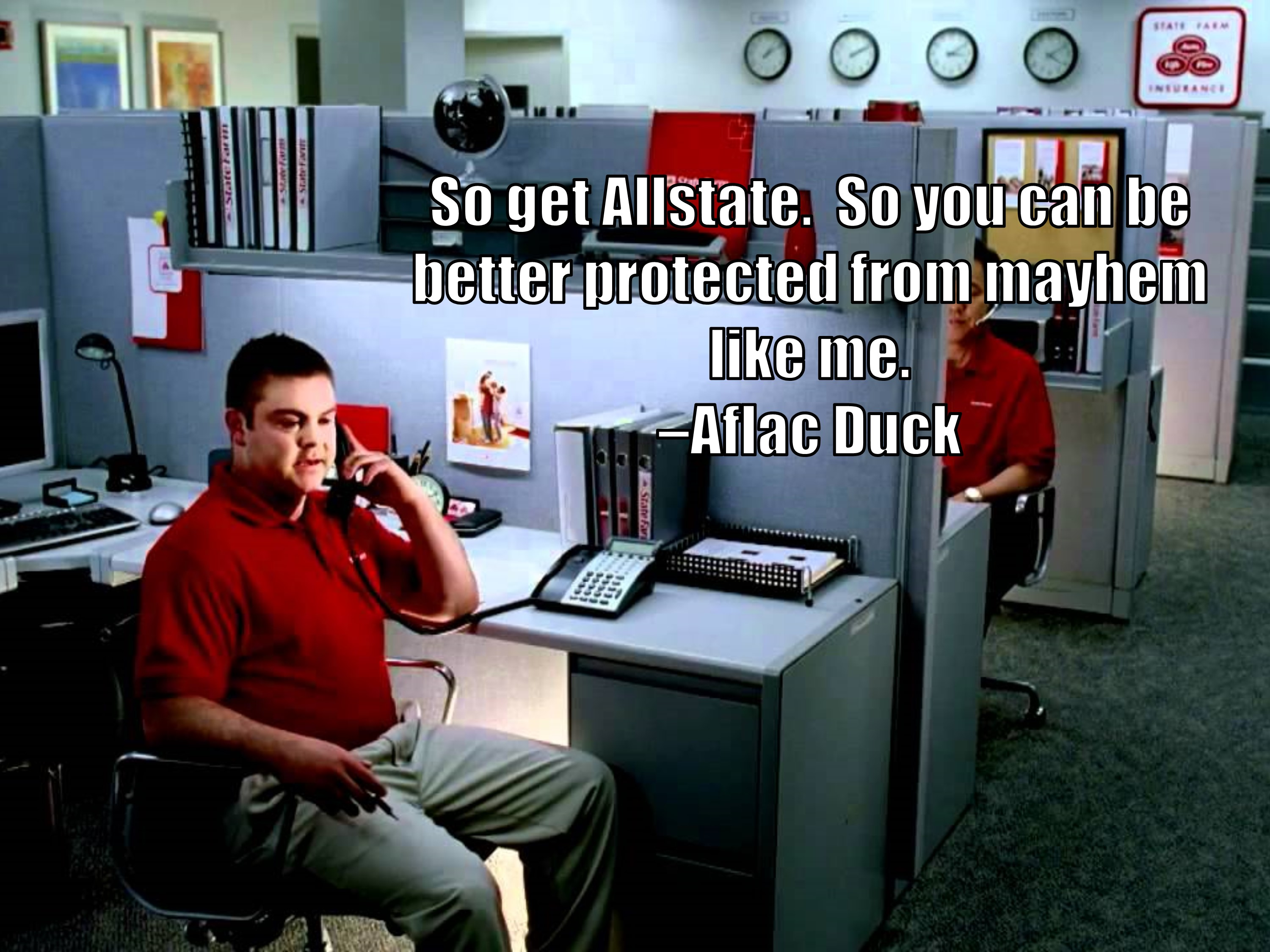 Aflac Quote Aflac Duck Quote  Troll Quotes  Know Your Meme