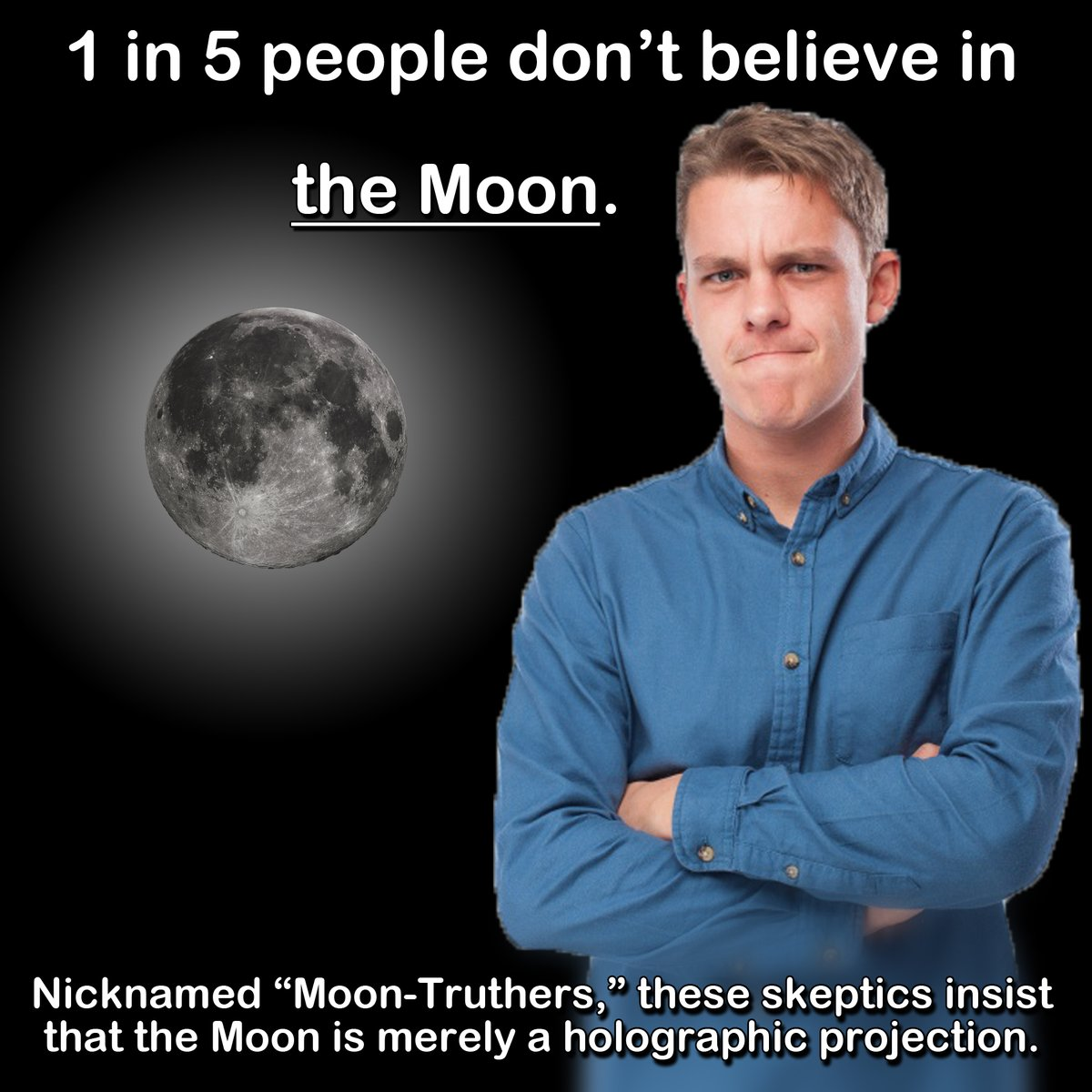 Moon-Thruthers | Conspiracy Theories | Know Your Meme