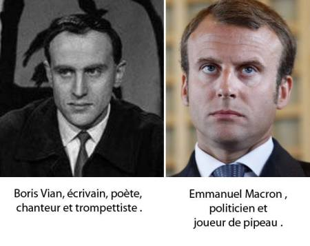 8f9 emmanuel macron vs boris vian totally looks like separated at