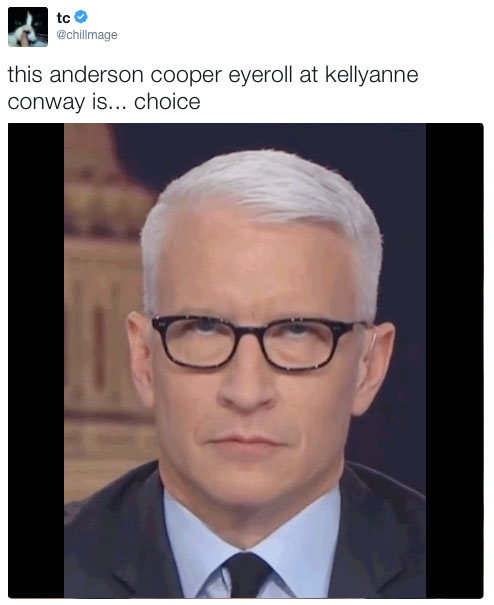 843 this anderson cooper eyeroll at kellyanne conway is choice