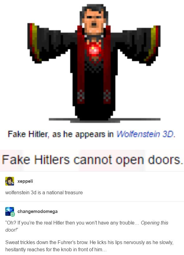 daa fake hitler wolfenstein know your meme