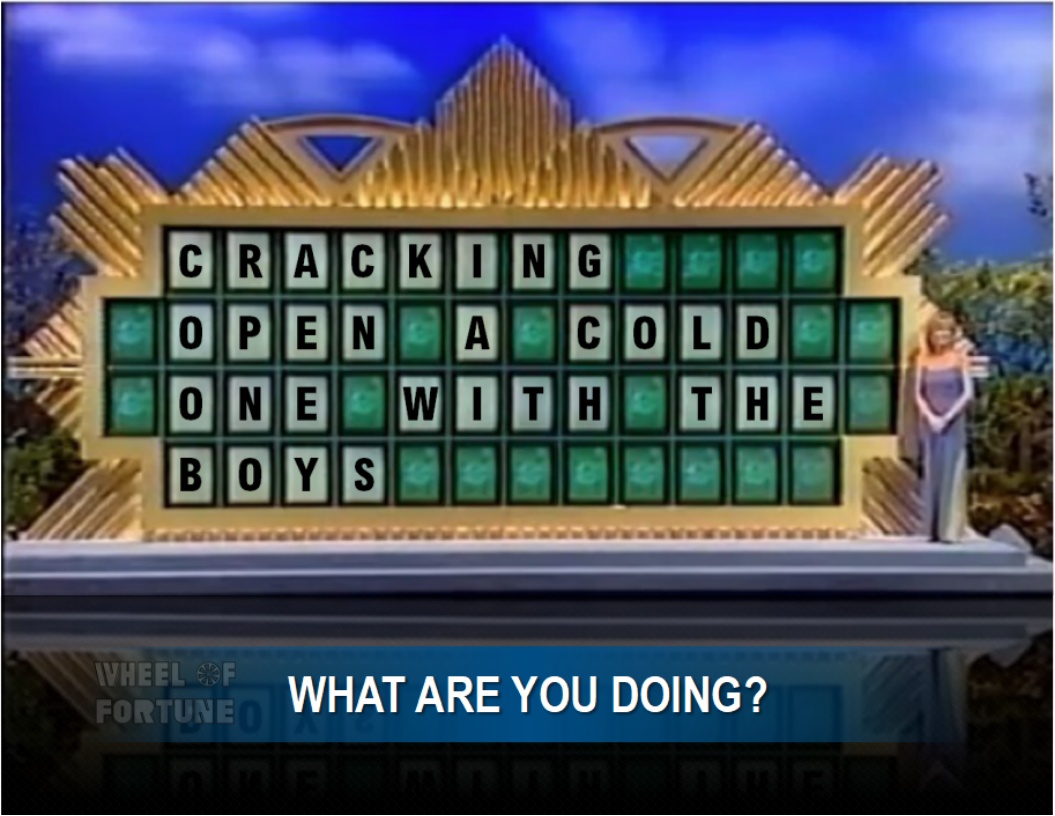 pat, i'd like to solve the puzzle."