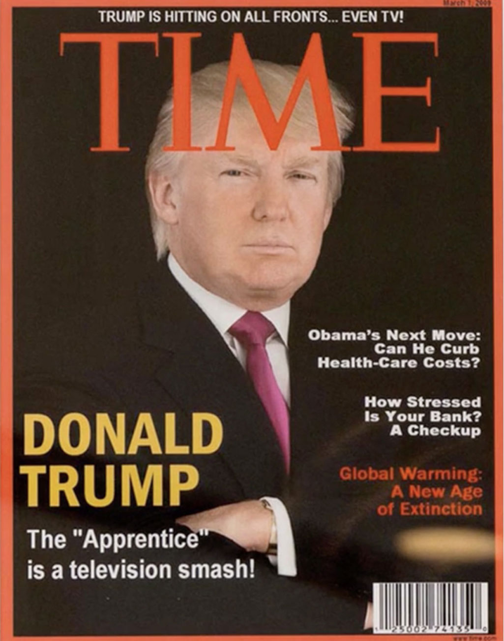 1c8 donald trump's fake time cover trump's fake time cover know